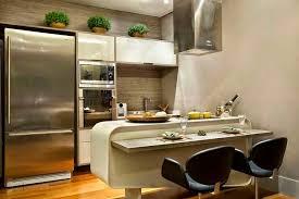 cozinhas modernas com bancada pequena