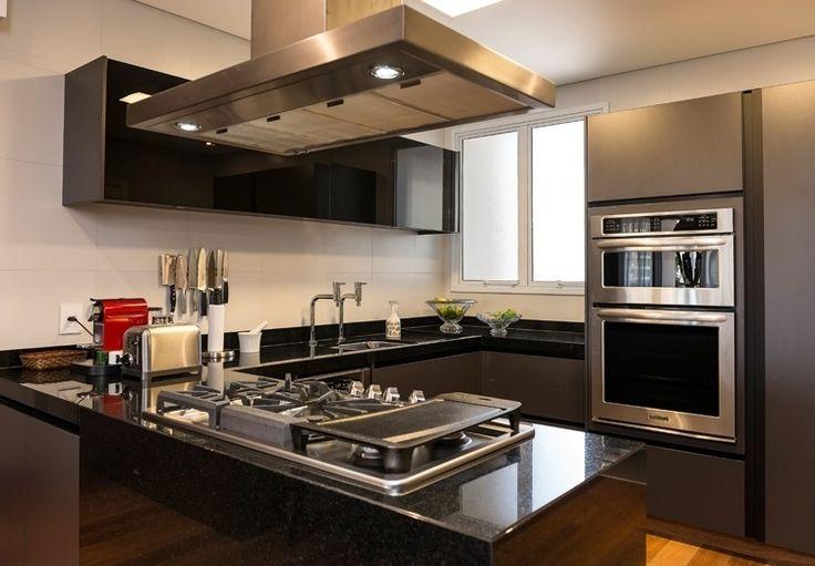 cozinhas modernas com bancada