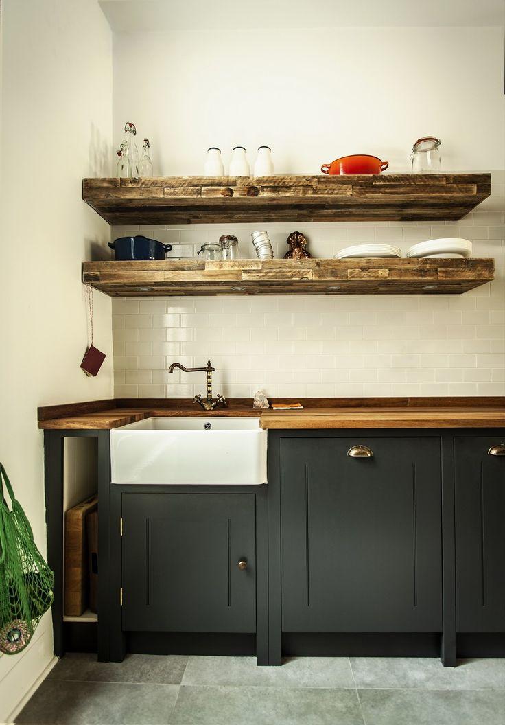 cozinhas modernas com pastilhas e madeira