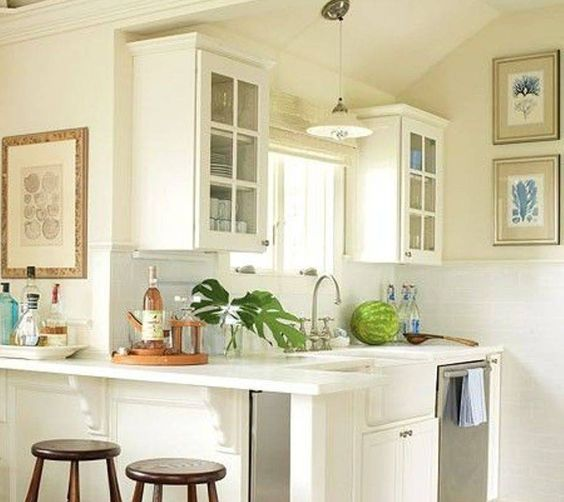 Simple Kitchen Design For Small House Kitchen: 30 Incríveis Maneiras De Modernizar A Sua
