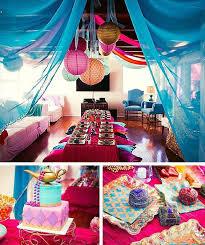 decoração de festa indiana