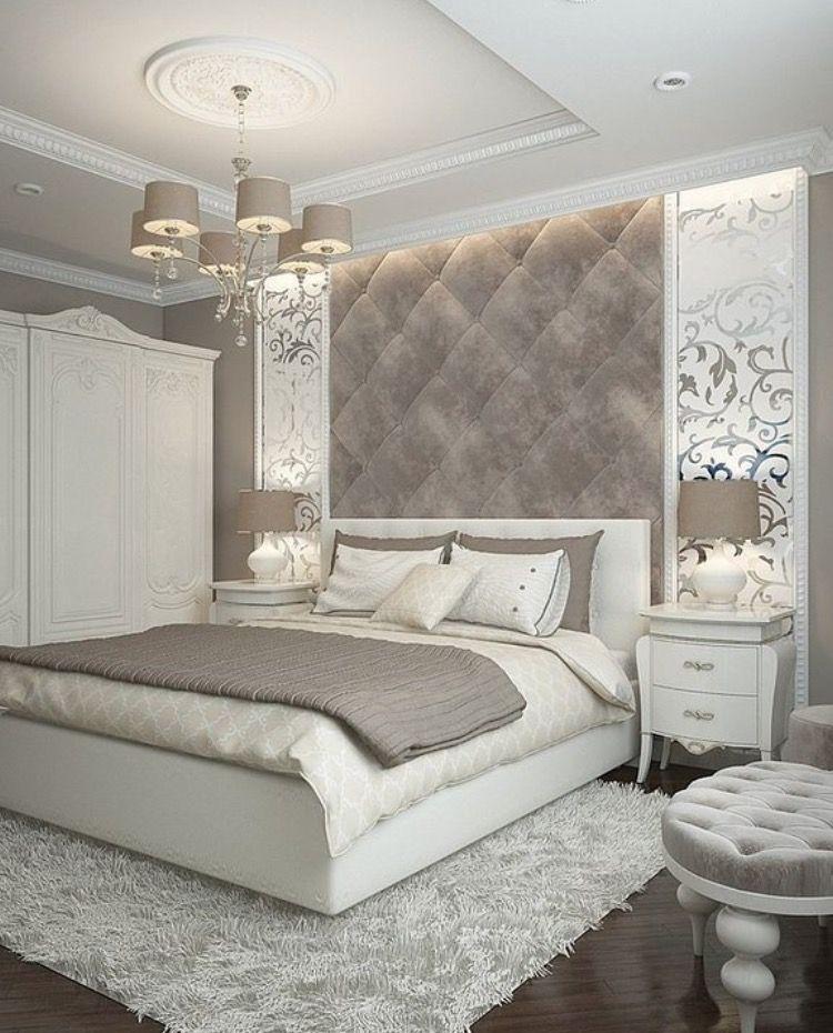decoração luxuosa no quarto
