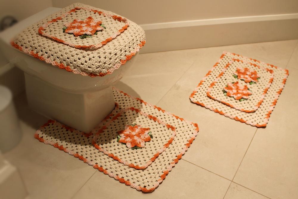 Jogo de banheiro quadrado