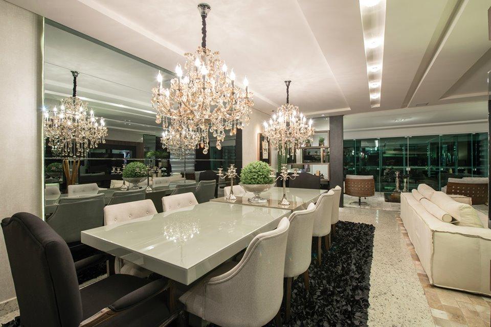 lustres para sala de jantar grande