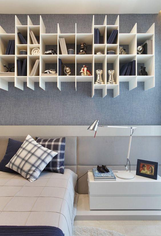 Nichos para quarto 30 tendências que vão mudar sua casa