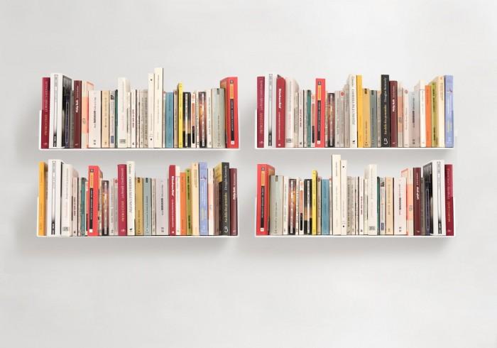 Prateleira para livros em u