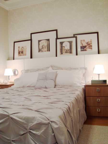 quartos lindos de casal com belos quadros