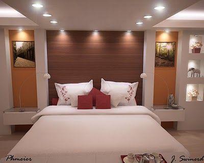 quartos lindos de casal com uma bela cama