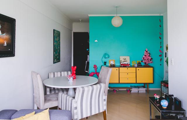 quartos lindos de casal parede azul