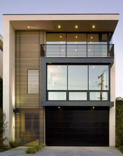 Casas modernas veja mais de 100 modelos projetos e for Fachadas de casas modernas 1 pavimento