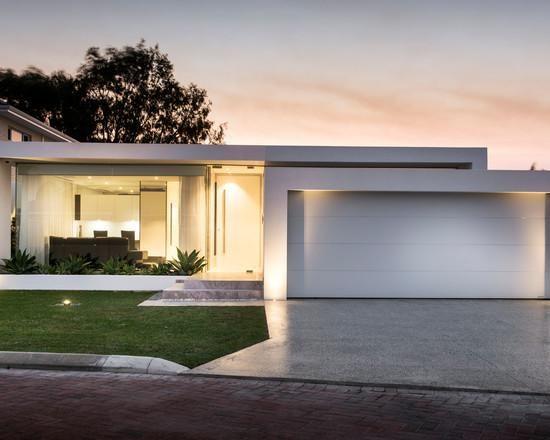 Casas modernas veja mais de 100 modelos projetos e for Casa moderna l