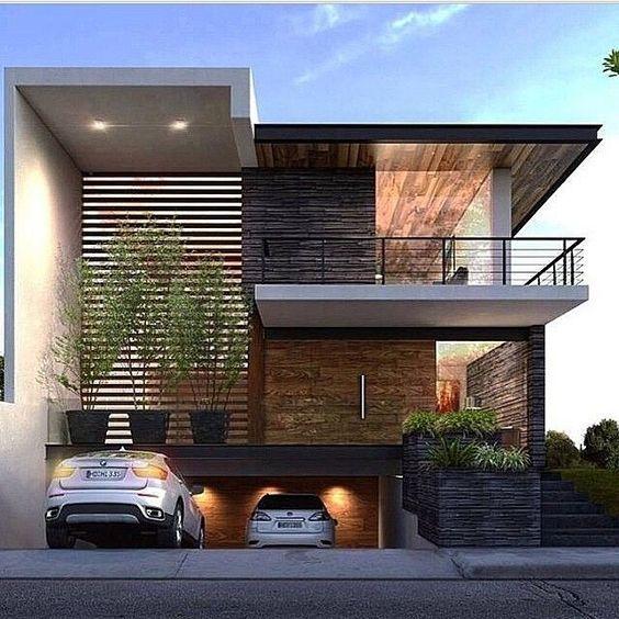 Casas modernas veja mais de 100 modelos projetos e for Casas modernas futuristas