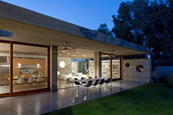 Casas modernas veja mais de 100 modelos projetos e - Casas de campo por dentro ...
