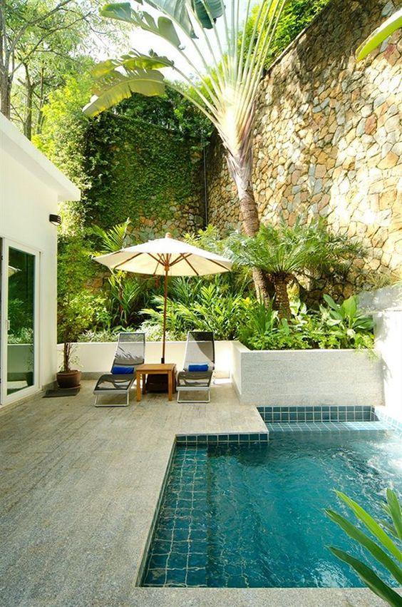 Casas modernas veja mais de 100 modelos projetos e for Modelos de piscinas modernas