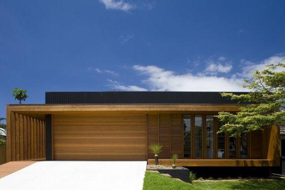 Casas modernas veja mais de 100 modelos projetos e - Distribuciones de casas modernas ...
