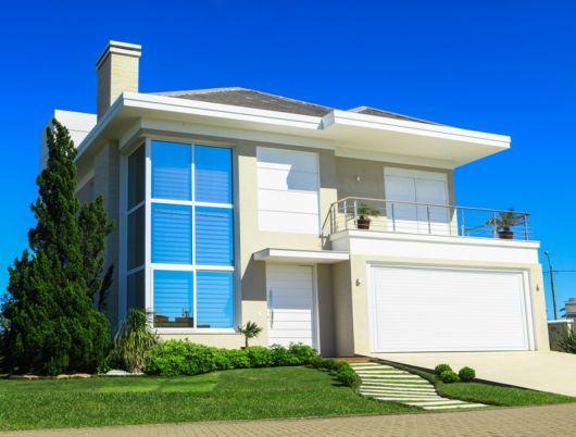 Casas modernas com vidro