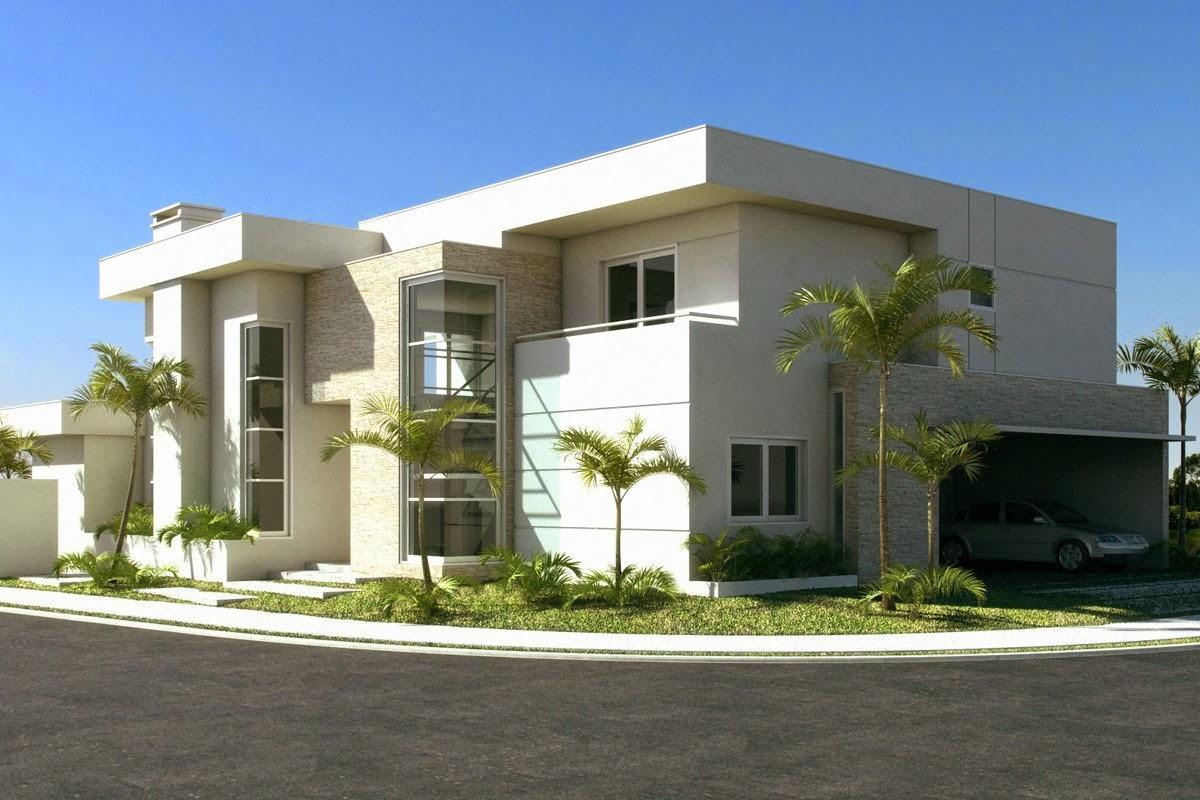Casas modernas de esquina