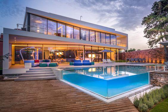 Casas modernas veja mais de 100 modelos projetos e for Casa moderna 44 belvedere