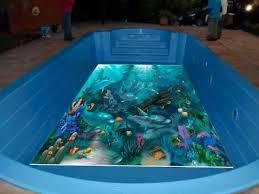 Porcelanato liquido na piscina