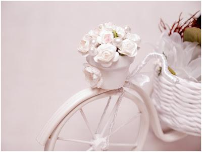 bicicleta artesanal feita com jornal velho