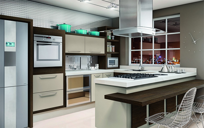 Wibampcom  Cozinha Planejada Luxuosa ~ Idéias do Projeto da Cozinha para a  # Cozinha Planejada Luxuosa