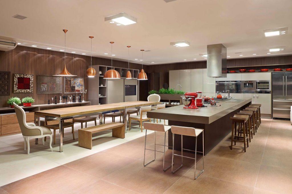 Cozinhas de Luxo - Veja 50 Modelos Lindos e Luxuosos