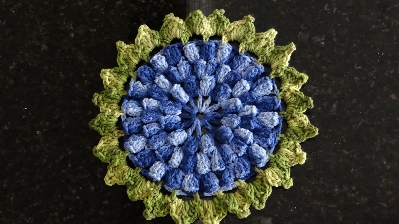 flor de croche hortencia