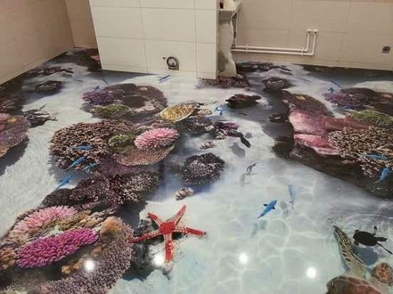porcelanato liquido fundo do mar
