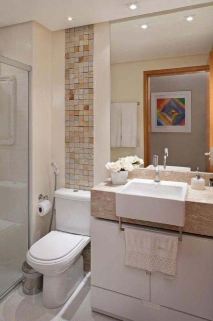 Banheiros decorados 135 modelos com fotos lindas para voc - Fotos de pisos decorados ...