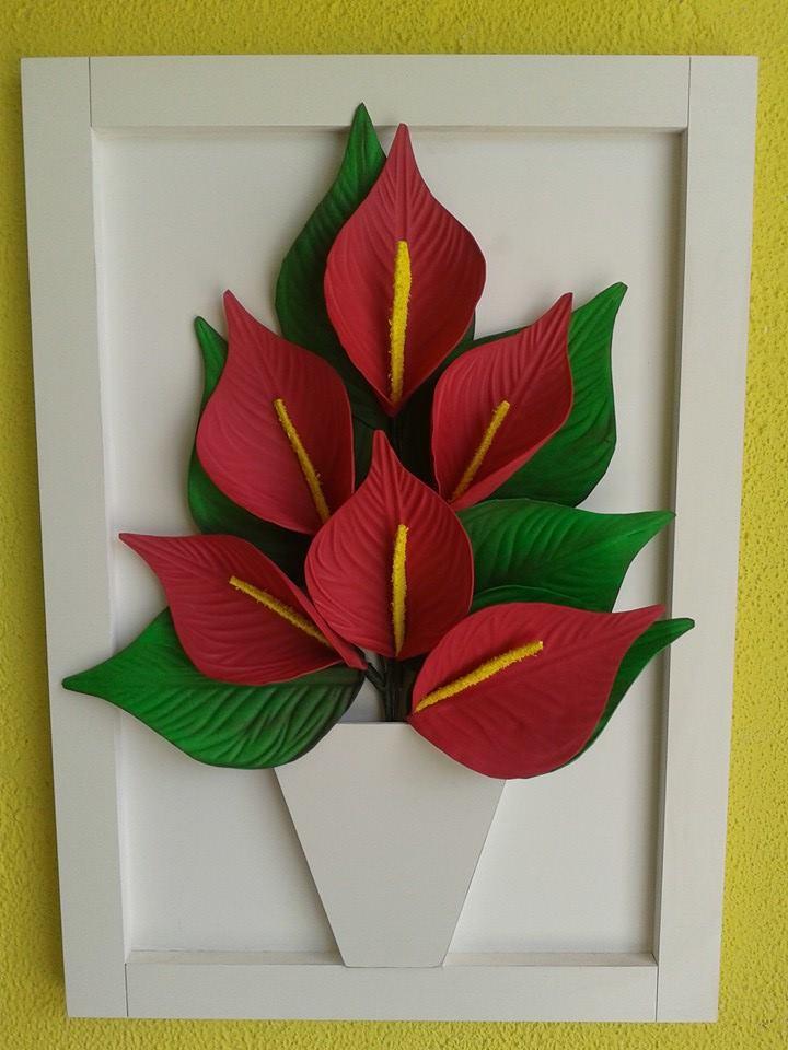 Flores de eva antúrio