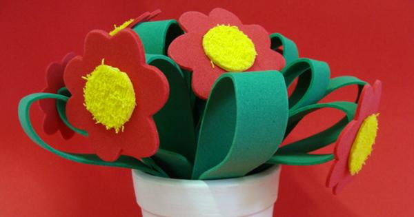 Flores de eva para o dia das mães