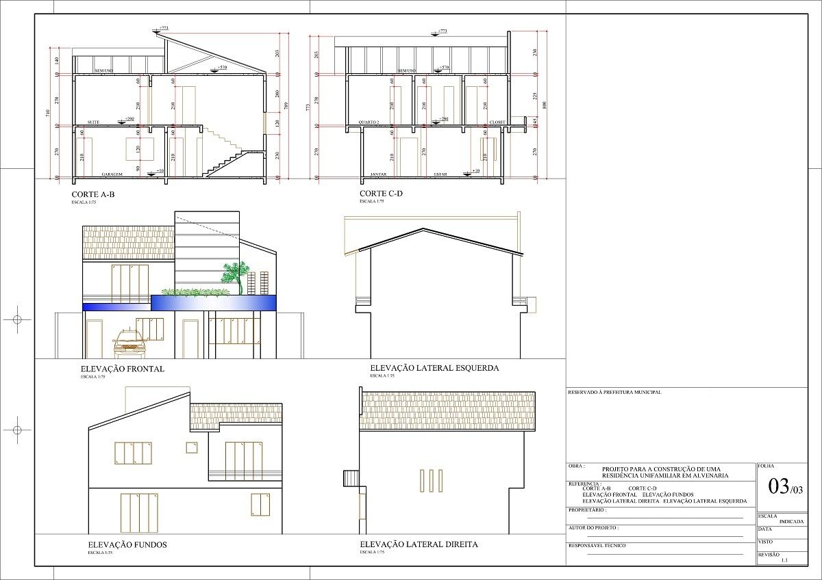 Projeto arquitetonico de casas gratis