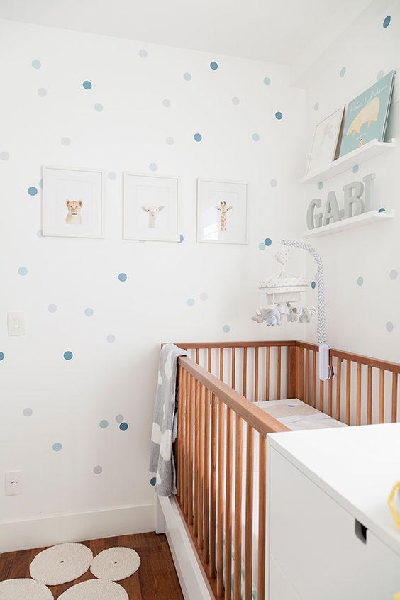 Adesivo Quarto Bebe Masculino ~ Decoraç u00e3o de Quarto de Beb u00ea 80 Modelos Com Fotos Para Voc u00ea