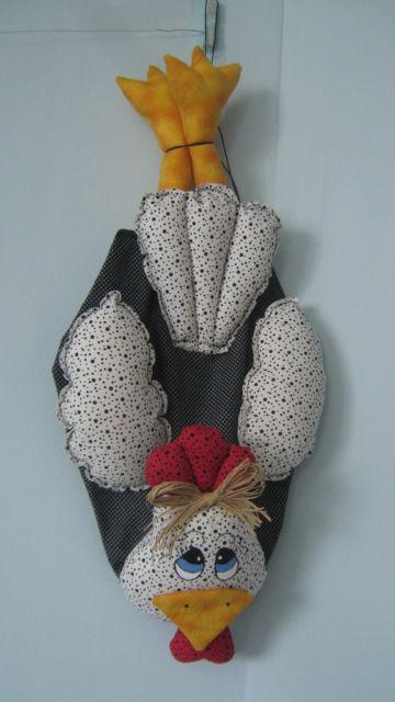 Artesanato em tecido feito exclusivamente para a cozinha