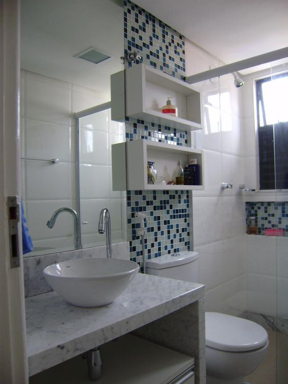 Banheiros Revestidos Simples : Banheiros simples veja mais de modelos lindos