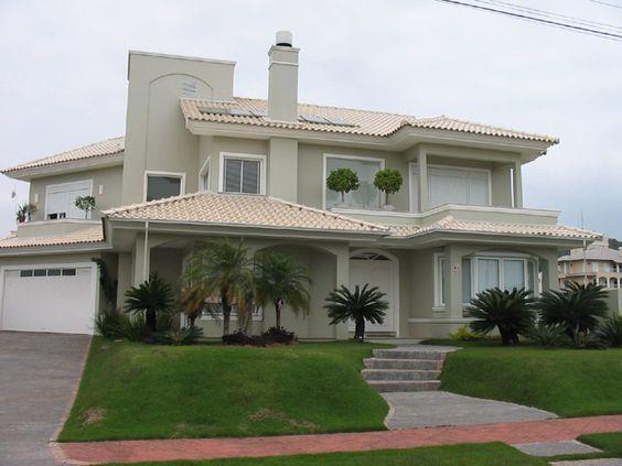 Fachadas de casas os modelos mais incr veis para for Casa moderna tunisie