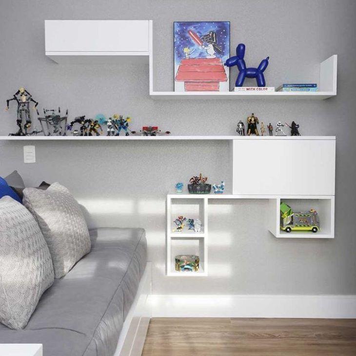 Conjunto de nichos para quarto
