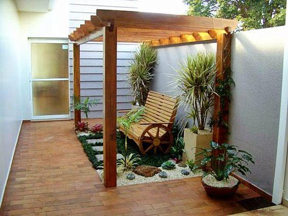 Jardins Pequenos Mais De 70 Modelos Incríveis E Lindos