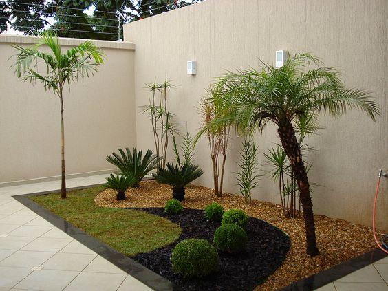 Jardins pequenos mais de 70 modelos incr veis e lindos - Como hacer un jardin bonito y barato ...