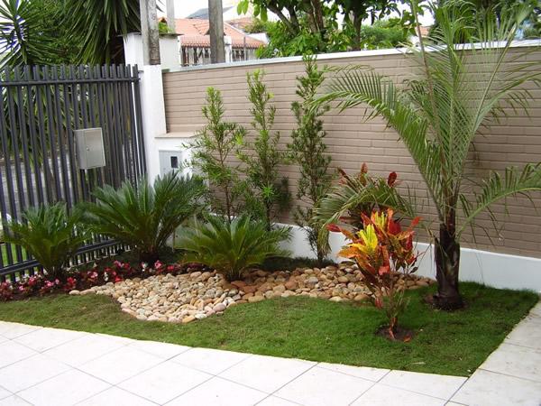 Jardins pequenos para frente de casas