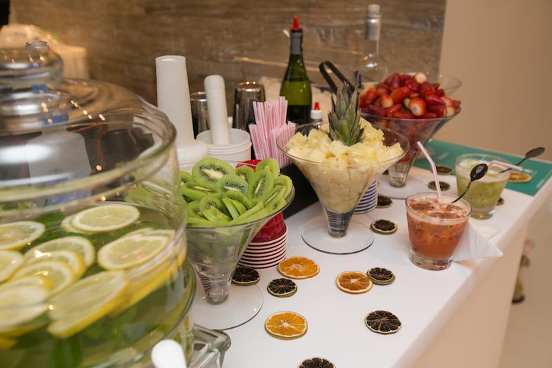 Mesa de frutas barman
