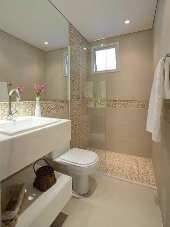 Revestimento para banheiro 40 modelos saiba escolher o melhor - Cambio de pisos entre particulares ...