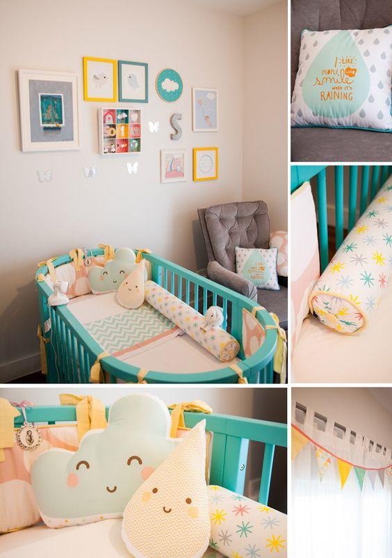 4eca689e6 Decoração de Quarto de Bebê - 80 Modelos Com Fotos Para Você