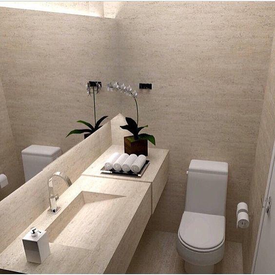 Revestimento para banheiro 40 modelos saiba escolher o for Modelos de granitos para pisos