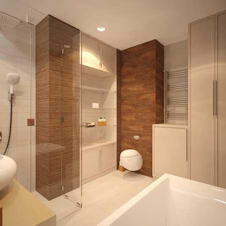 Revestimento para banheiro adesivo