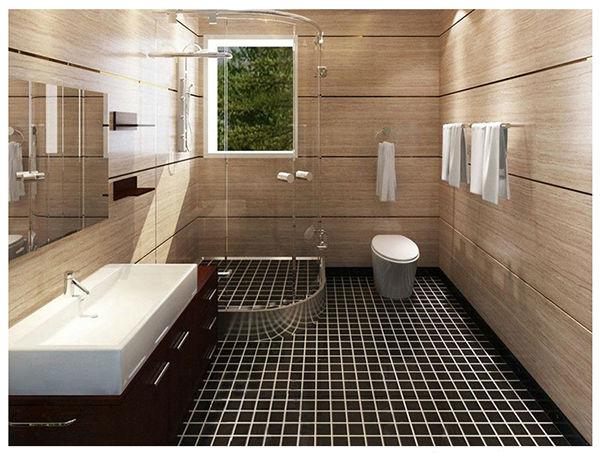 Revestimento para banheiro antiderrapante