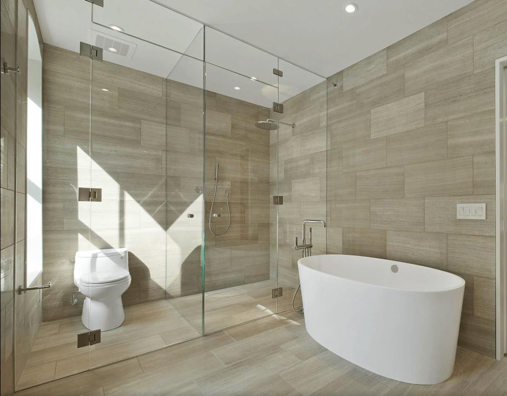 Revestimento para banheiro moderno