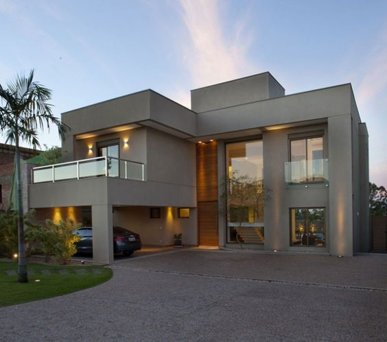 Fachadas de casas os modelos mais incr veis para for Fotos de casas modernas tipo 2