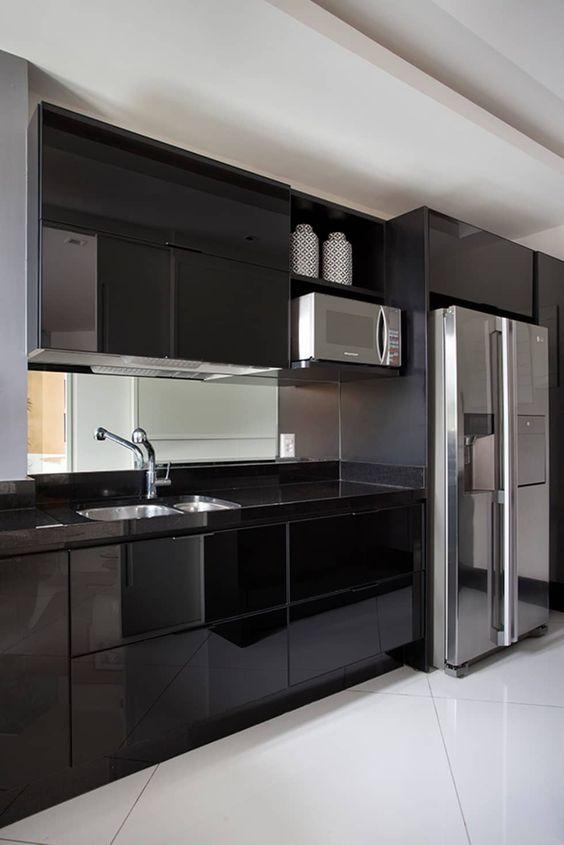 Cozinhas modernas veja de 100 modelos incr veis e lindos for Modelos de armarios modernos