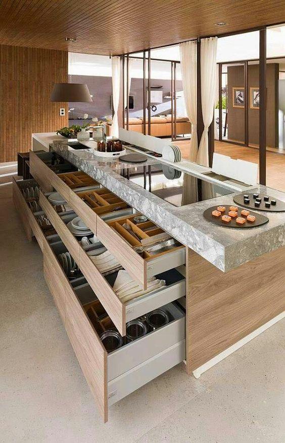 Cozinhas Modernas - Veja + de 100 Modelos Incr?veis e Lindos